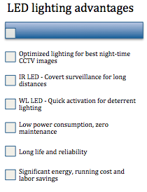 LED lighting solutions advantages