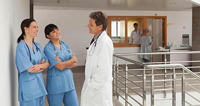tablet medical staff