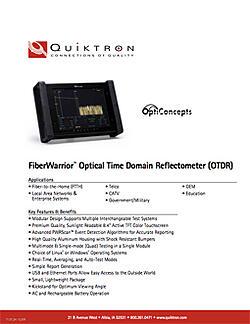 Quiktrons_FiberWarrior_Optical_Time_Domain_Reflectometer_2