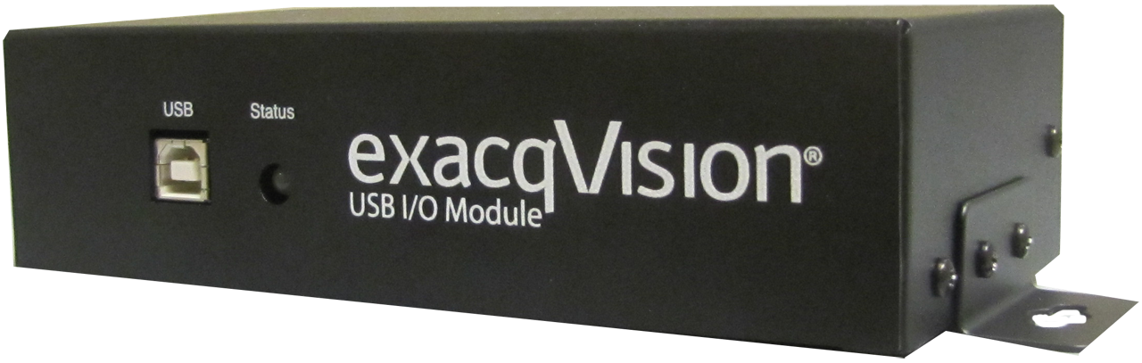 exacqVision IO module front left