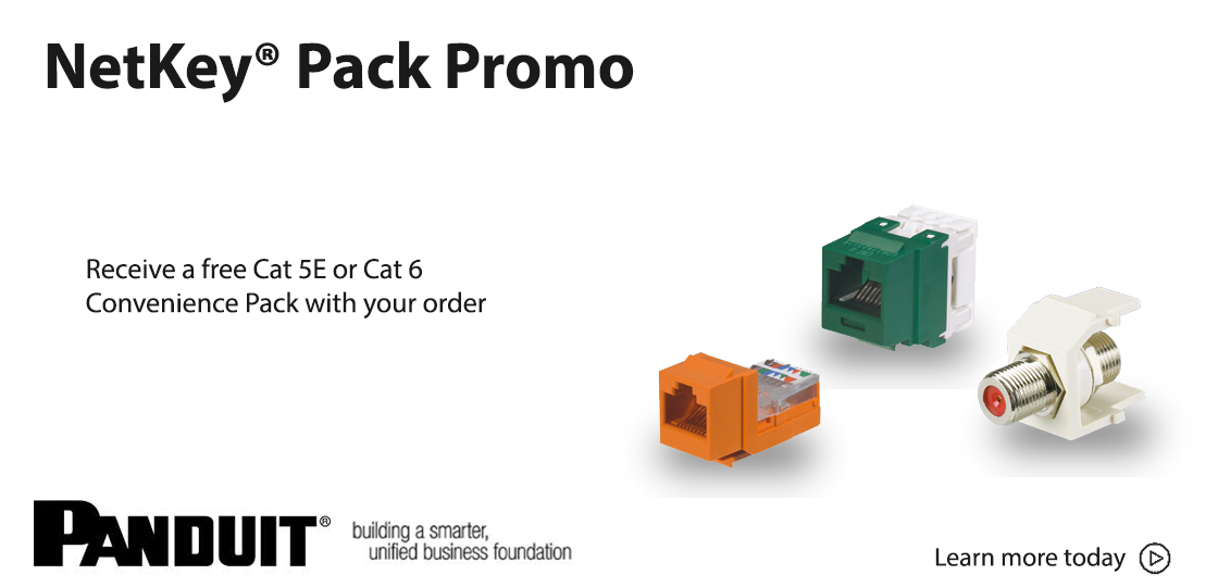 panduit netkey promotion