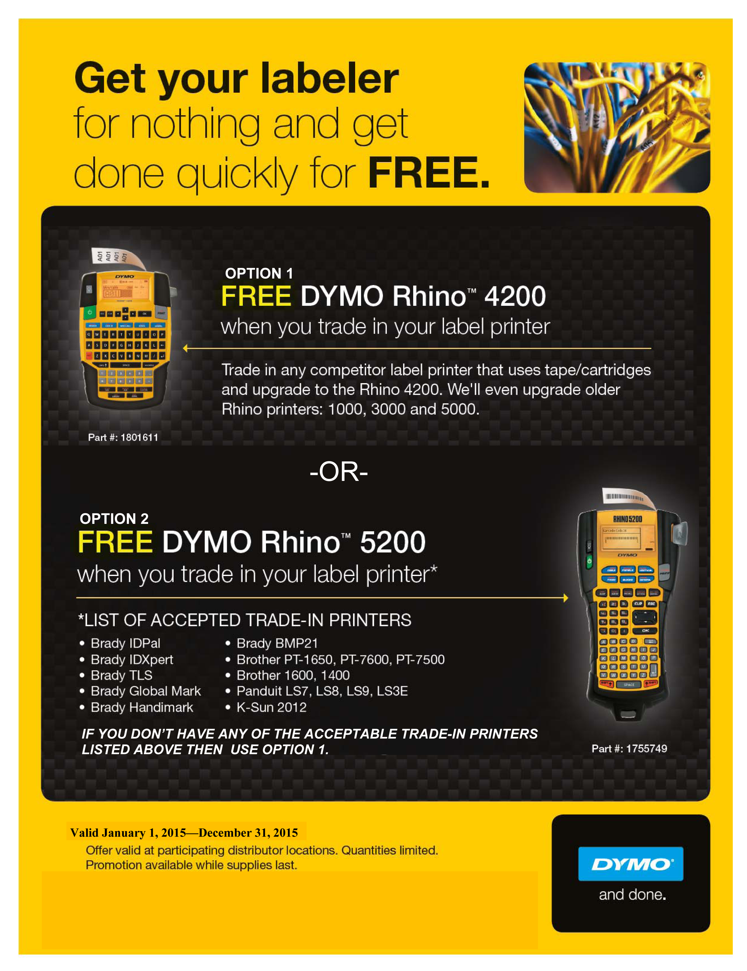 2015_Dymo_Trade_In_Promotion_Flyer