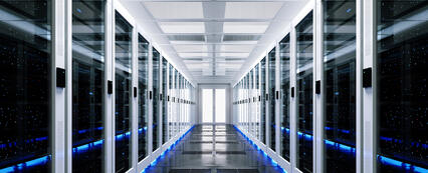 Data Center - White Cabinets