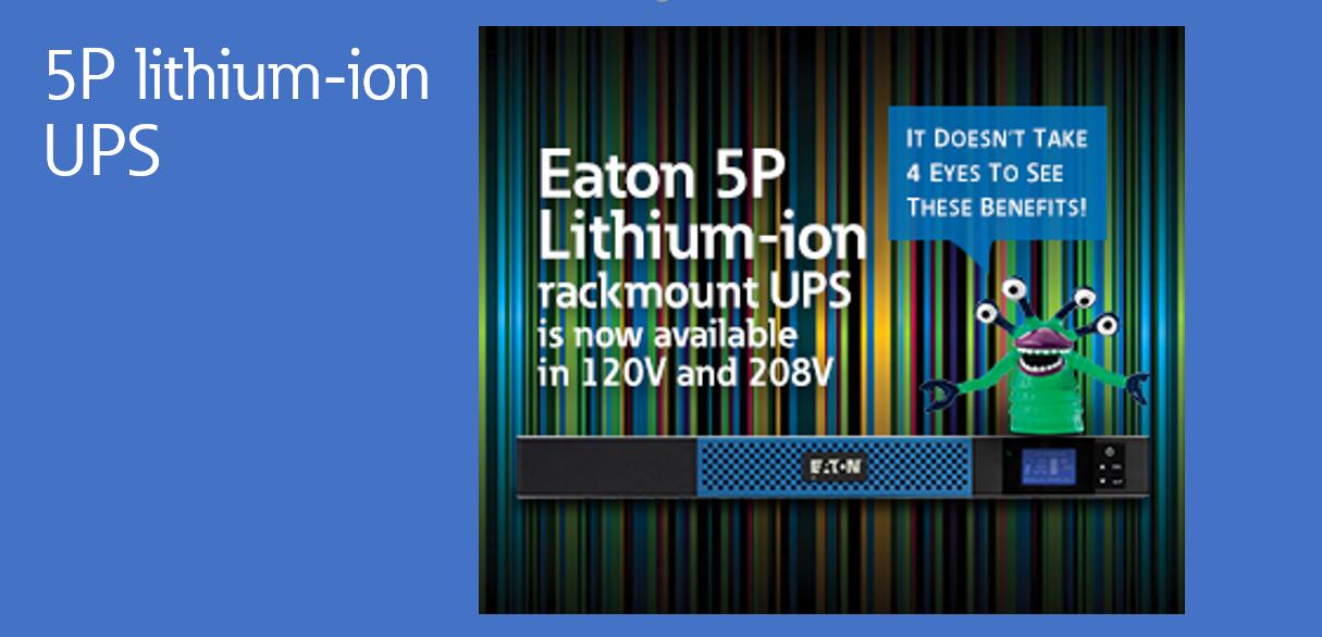 5P Lithium ion UPS Banner