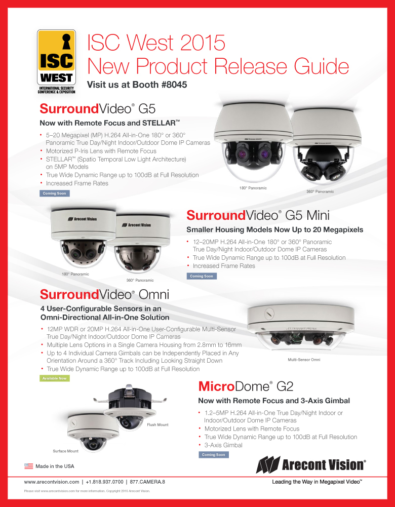 ArecontVisionNewProduct