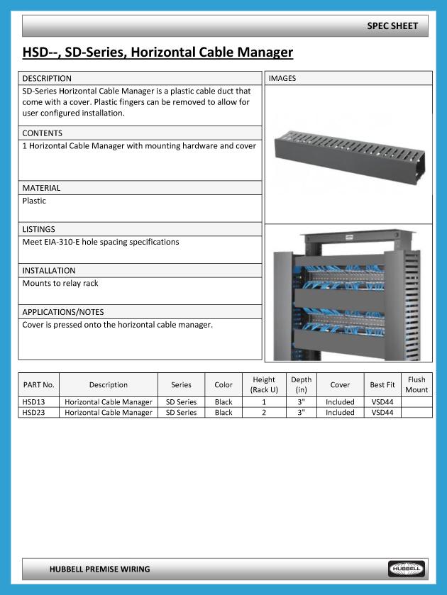 CableManagement_SpecSheet_HSD-1