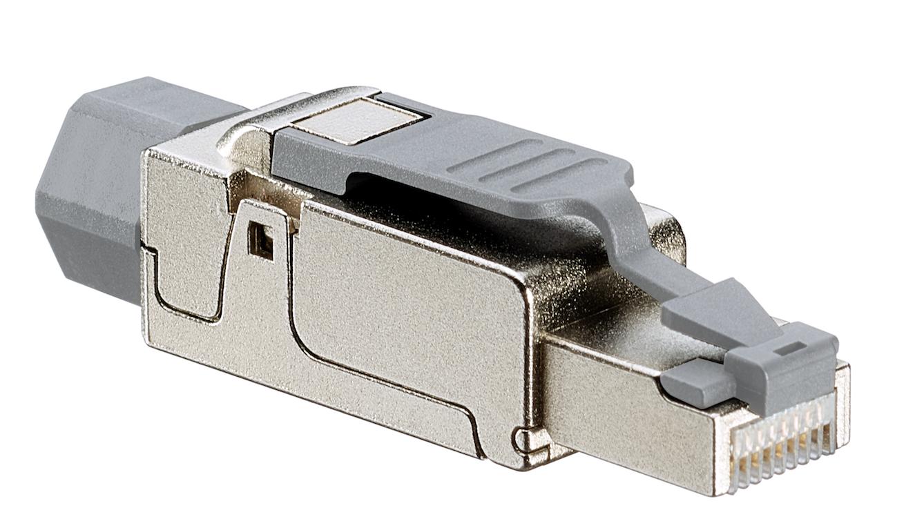 Cat 6A Universal Tool-Free Plug