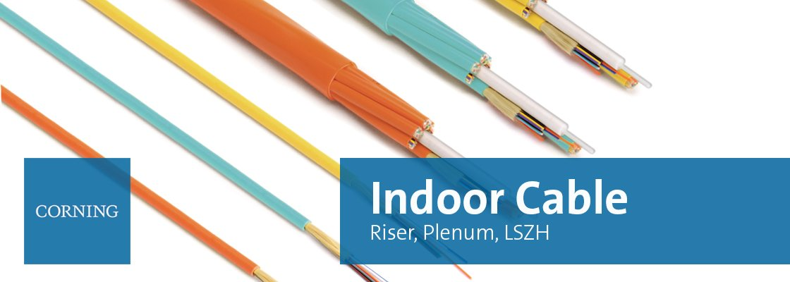 Corning Indoor cable banner