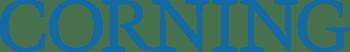 Corning logo blue