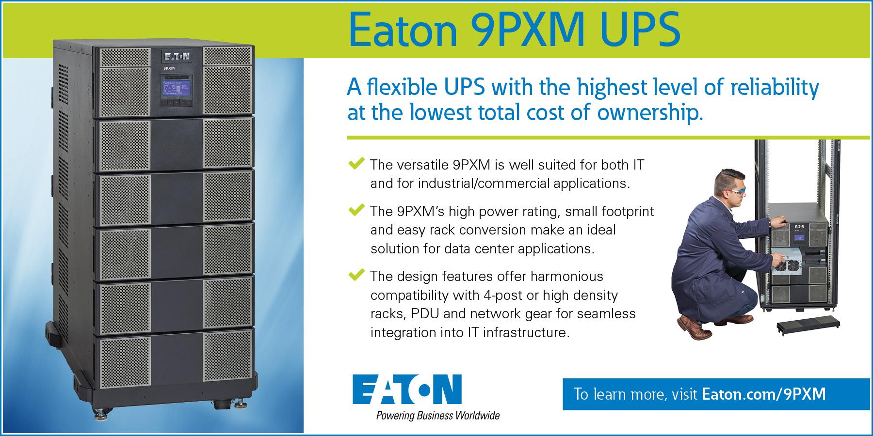Eaton 9PXM Digital Signage