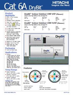 Hitachi DryBit data sheet ss