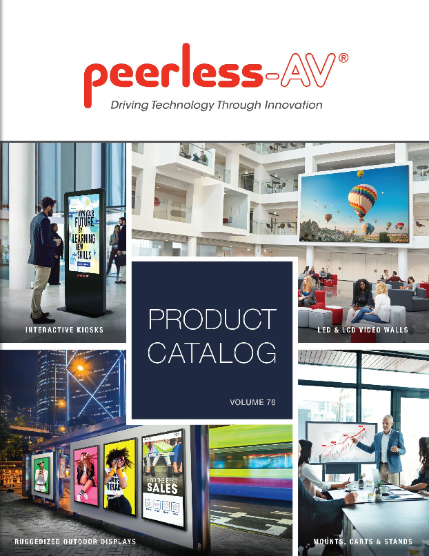 Peerless-AV Product Catalog 2019