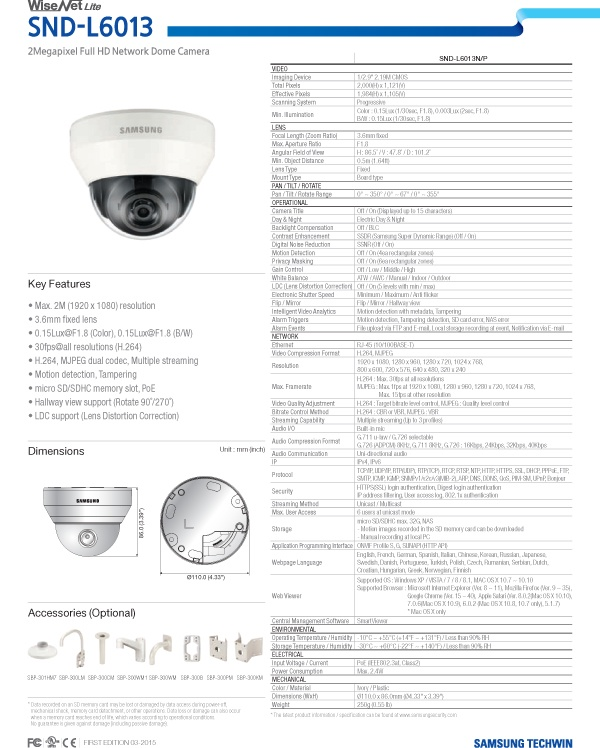 SND-L6013_Specifications