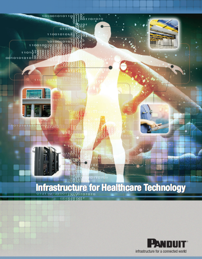 Panduit Infrastructure for healthcare technology brochure