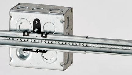 Telescoping box mounting bracket from Eaton BLine