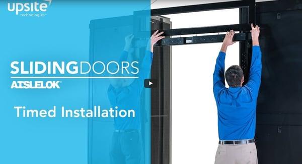 Upsite sliding doors video