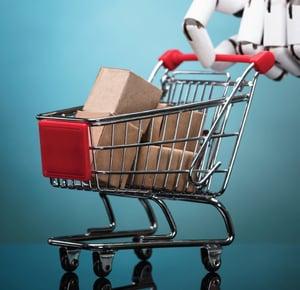 Vertiv AI Retail Cart