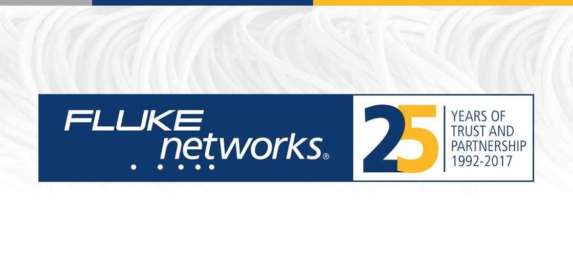Fluke Networks 25 Years