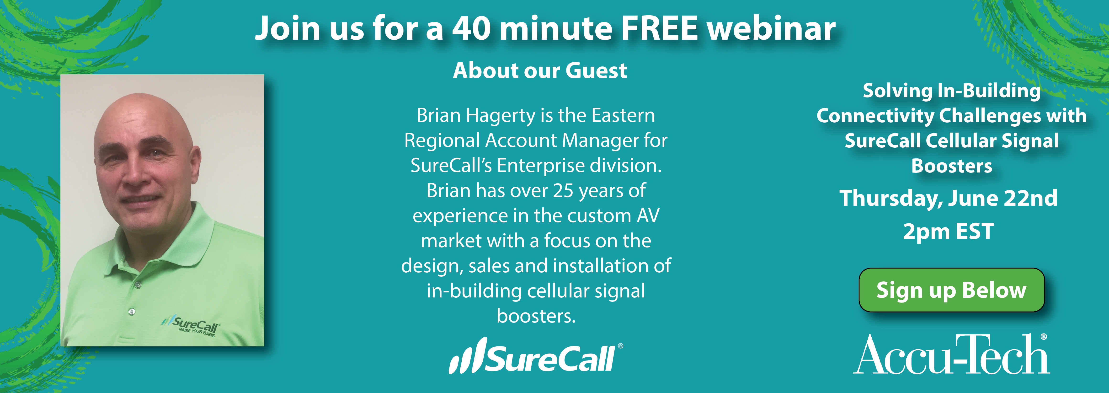 Join us for a FREE Webinar: Solving In-Building Connectivity